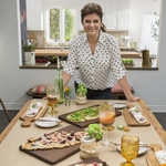 "Image for the Cookery programme ""Dinner at Tiffani's"""