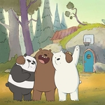"Image for the Childrens programme ""We Bare Bears"""