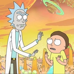 "Image for the Animation programme ""Rick and Morty"""