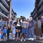 "Image for the Sitcom programme ""Chewing Gum"""