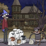 "Image for the Animation programme ""Regular Show Presents: Terror Tales of the Park IV"""