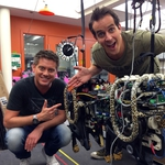 "Image for the Childrens programme ""Absolute Genius Super Tech with Dick and Dom"""