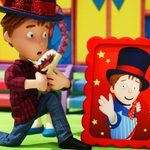 "Image for the Childrens programme ""Toby's Travelling Circus"""