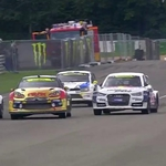 "Image for the Motoring programme ""Belgian Rallycross"""