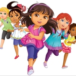 "Image for the Childrens programme ""Dora and Friends"""