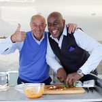 "Image for the Cookery programme ""Len and Ainsley's Big Food Adventure"""