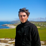 "Image for the Documentary programme ""Ireland with Simon Reeve"""