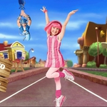 "Image for the Childrens programme ""LazyTown"""