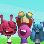 "Image for the Childrens programme ""Jelly Jamm"""