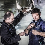 "Image for the Documentary programme ""Guy Martin: Last Flight of the Vulcan Bomber"""
