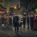 "Image for the Drama programme ""Dickensian"""