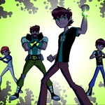 "Image for the Animation programme ""Ben 10: Omniverse"""