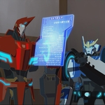 "Image for the Animation programme ""Transformers Robots in Disguise"""