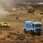 "Image for the Motoring programme ""Africa Eco Race"""