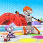 "Image for the Childrens programme ""Spot Bots"""
