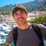 "Image for the Travel programme ""Greece with Simon Reeve"""