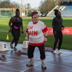 "Image for the Documentary programme ""Jo Brand's Hell of a Walk for Sport Relief"""