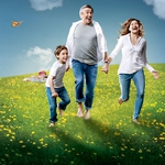 "Image for the Comedy programme ""Happyish"""
