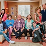 "Image for the Comedy programme ""Two Doors Down"""