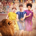 "Image for the Sitcom programme ""Plebs"""
