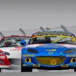 "Image for the Motoring programme ""BRSCC Mazda MX-5 Supercup"""