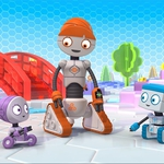 "Image for the Childrens programme ""Spot Bots Zoople Time"""