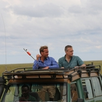 "Image for the Nature programme ""Ben Fogle: The Great African Migration"""