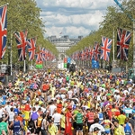 "Image for the Sport programme ""The London Marathon"""