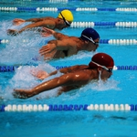 "Image for the Sport programme ""Swimming Replay"""