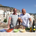"Image for the Travel programme ""Sicily with Aldo and Enzo"""