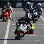 "Image for the Motoring programme ""Cool Fab Racing British Minibikes Championship"""