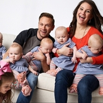 "Image for the Documentary programme ""Outdaughtered"""