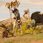 "Image for the Film programme ""A Zebra's Tale"""