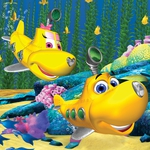 "Image for the Childrens programme ""Dive Olly Dive!"""