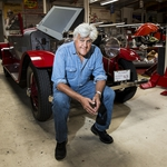 "Image for the Motoring programme ""Jay Leno's Garage"""