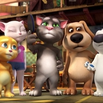 "Image for the Childrens programme ""Talking Tom and Friends"""