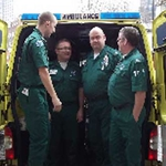 "Image for the Documentary programme ""Ambulance"""