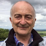 "Image for the History Documentary programme ""Britain's Ancient Tracks with Tony Robinson"""