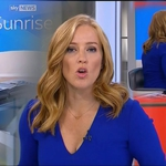"Image for the News programme ""Sunrise with Sarah-Jane Mee..."""