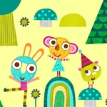 "Image for the Childrens programme ""Olobob Top"""