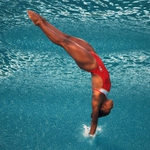 "Image for the Sport programme ""Diving"""