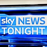 "Image for the News programme ""Sky News Tonight"""