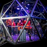 "Image for the Game Show programme ""The Crystal Maze"""