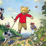 "Image for the Animation programme ""Rupert"""