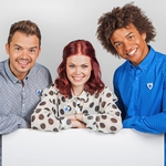 "Image for the Childrens programme ""Blue Peter"""