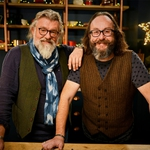 "Image for the Documentary programme ""Hairy Bikers' Mediterranean Adventure"""