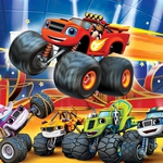 "Image for the Animation programme ""Blaze and the Monster Machines: Wild Wheels"""