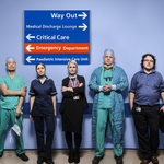 "Image for the Documentary programme ""Hospital"""